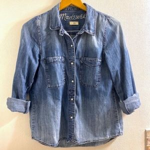 Madewell Ombre Denim Button Down Shirt
